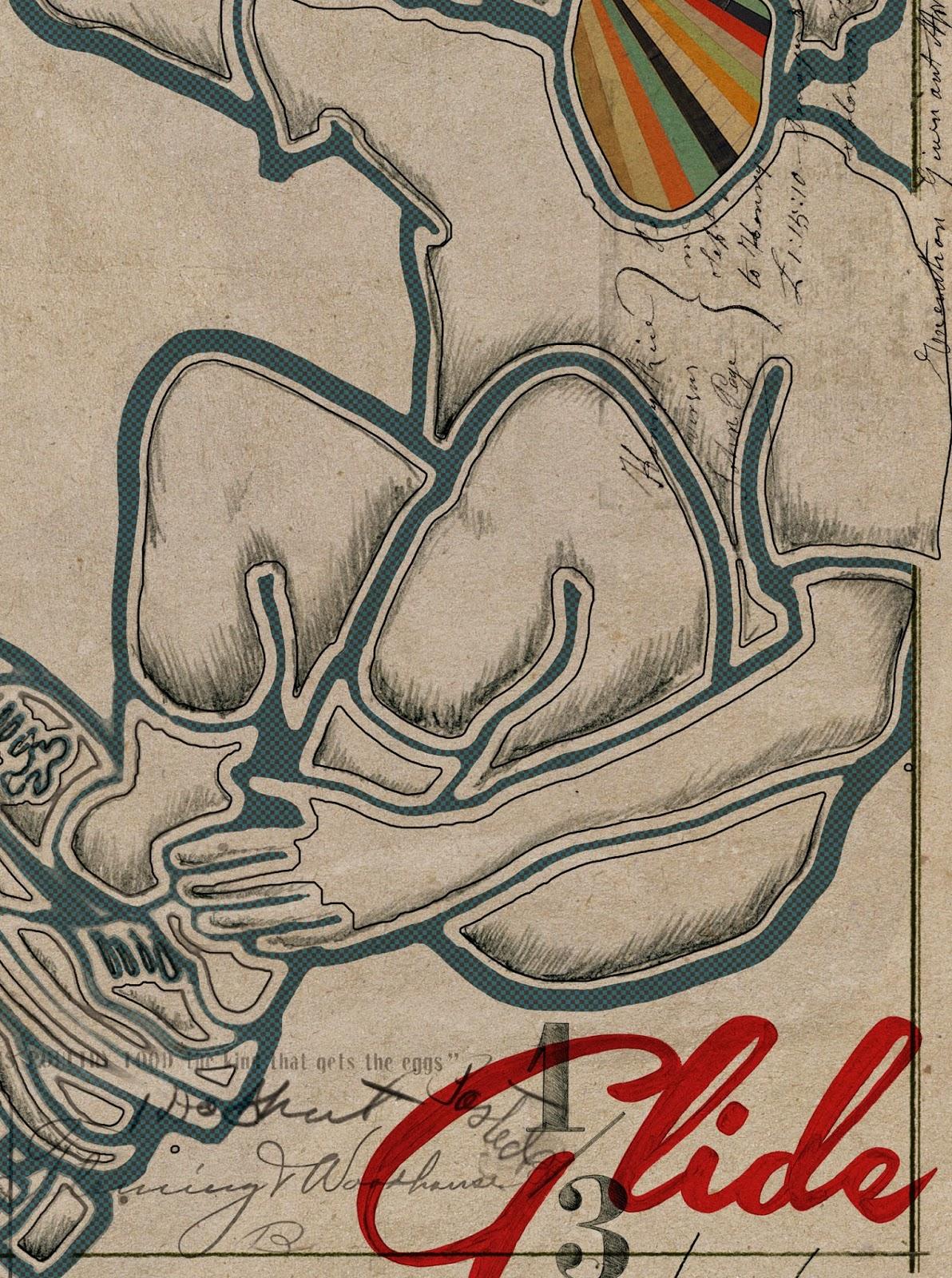 Skateboarding, Sketch