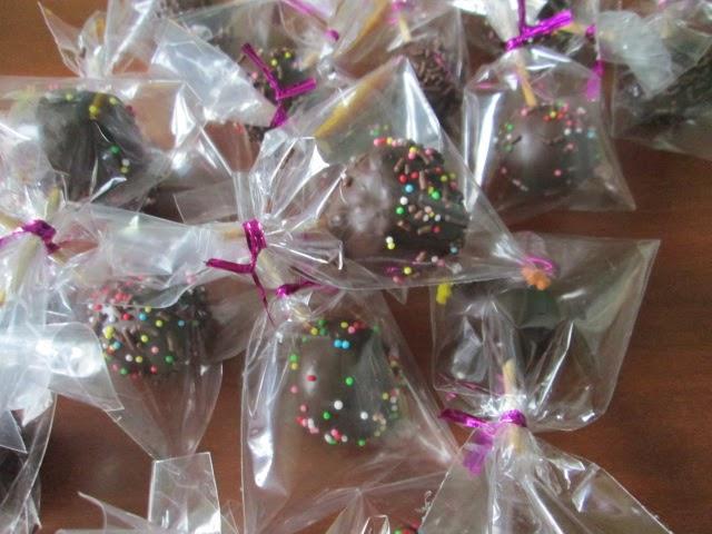 cake pops ball