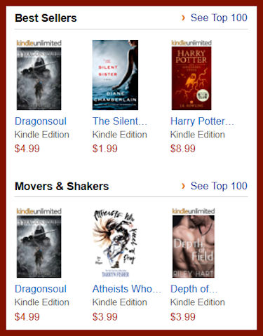 Hot New Kindle Releases