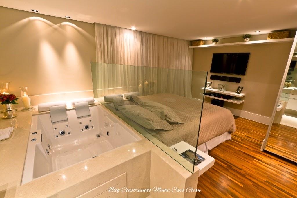 Conhecido Construindo Minha Casa Clean: Quartos Integrados com Banheiros de  QK44