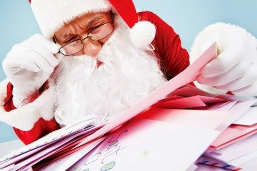Mỗi năm ông già Noel nhận được bao nhiêu thư?