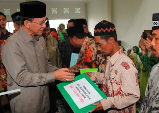 Menag berikan bantuan kepada eks jamaah Ahmadiyah