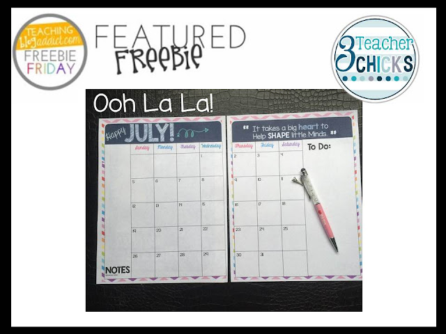 http://3teacherchicks.blogspot.com/2015/06/your-free-planning-calendar-has-arrived.html