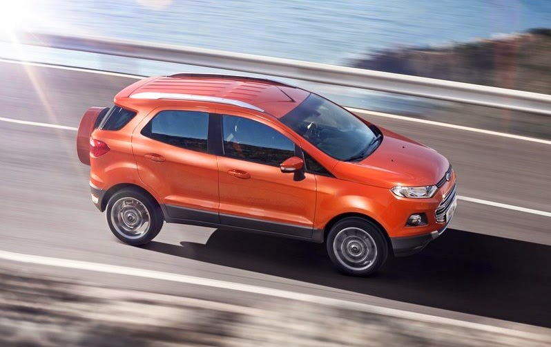 ford ecosport price in india