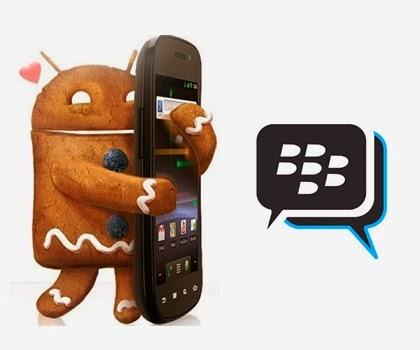 BBM Untuk Android 2.3.6 Gingerbread