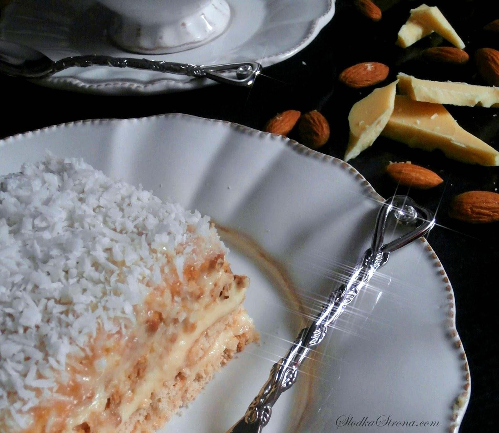 """Ciasto """"Rafaello""""  Przepis - Słodka Strona"""