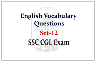 English Vocabulary sentence questions with Explanations for SSC CGL Exam 2015