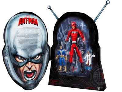 "San Diego Comic-Con 2015 Exclusive Ant-Man Marvel Infinite Series 3¾"" Scale Action Figure Box Set"
