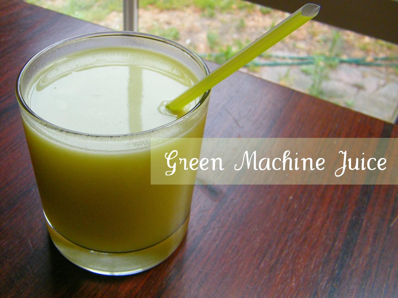 green machine juice review