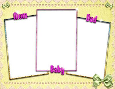 marco para fotos familiares