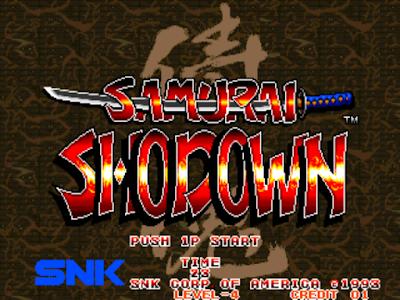 街機:侍魂系列零~4代+特別版合集+金手指作弊碼,SNK格鬥遊戲代表作之一!