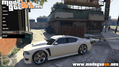 V - Mod Tunar Carros Portátil LS para GTA V PC
