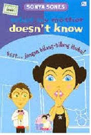 Novel Dwi Bahasa ssst Jangan Bilang-bilang Ibuku