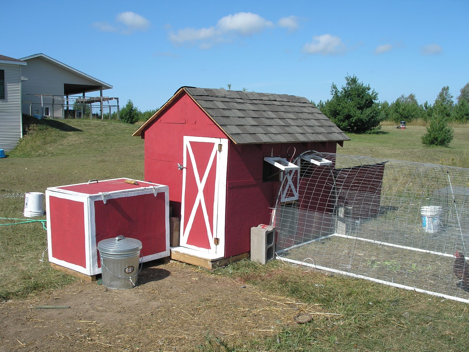 The cheerful agrarian simple light chicken tractors for Big chicken tractor