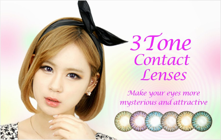 3 Tone Contact Lenses at ohmylens.com