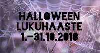 Halloween -lukuhaaste (1.-31.10.2018)