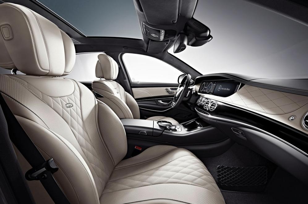 2014 Mercedes-Benz S600 interior