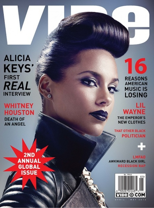 Fashion Bish: Alicia Keys Covers Vibe