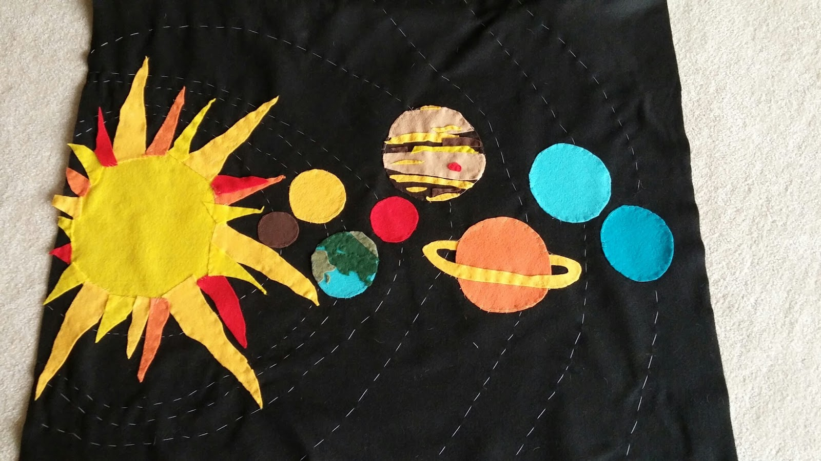 Wading through soup outer space themed card table panel for Outer space themed fabric