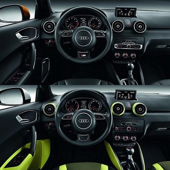 Audi a1 sportback concept interior wallpapers for Audi a1 sportback interieur