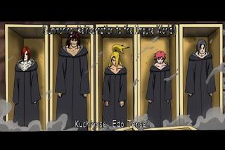 Ninja Yang di bangkitkan oleh Jurus Edotensei