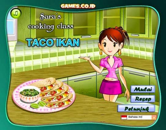 Permainan Memasak Taco Ikan