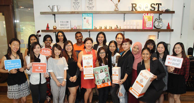 Bio Oil's Be Skin Confident Workshop