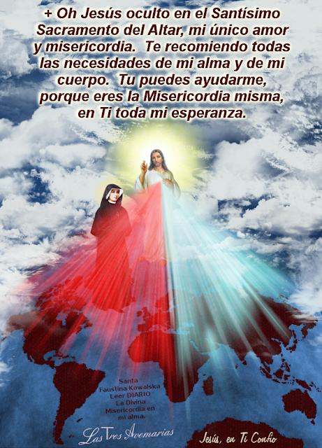 o buen jesus misericordia ayudame en todo