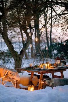 winter outside living/lulu klein