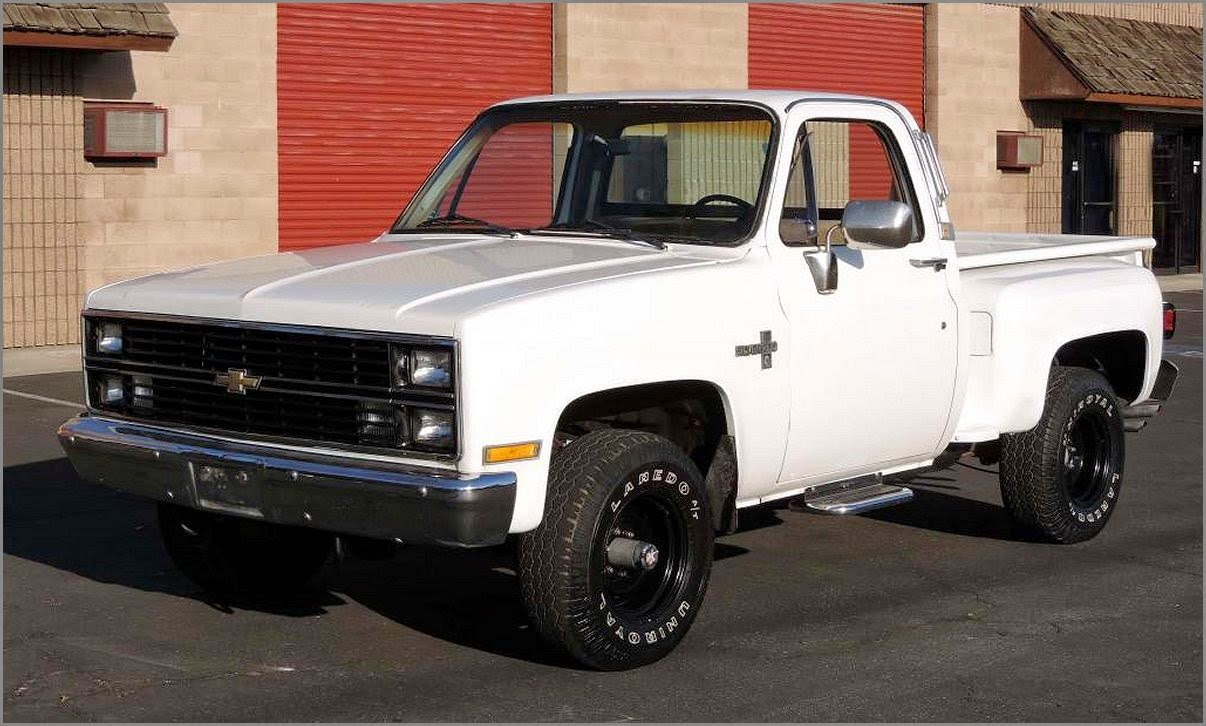 1984 Chevy Stepside 4x4 Truck Pic Autos Post