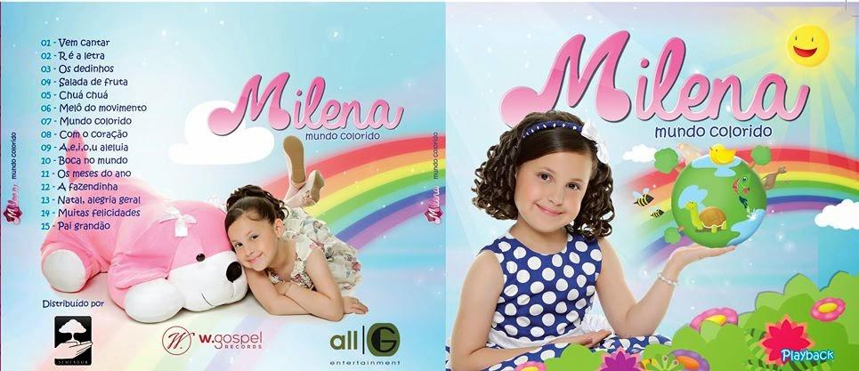 MILENA - CD MUNDO COLORIDO