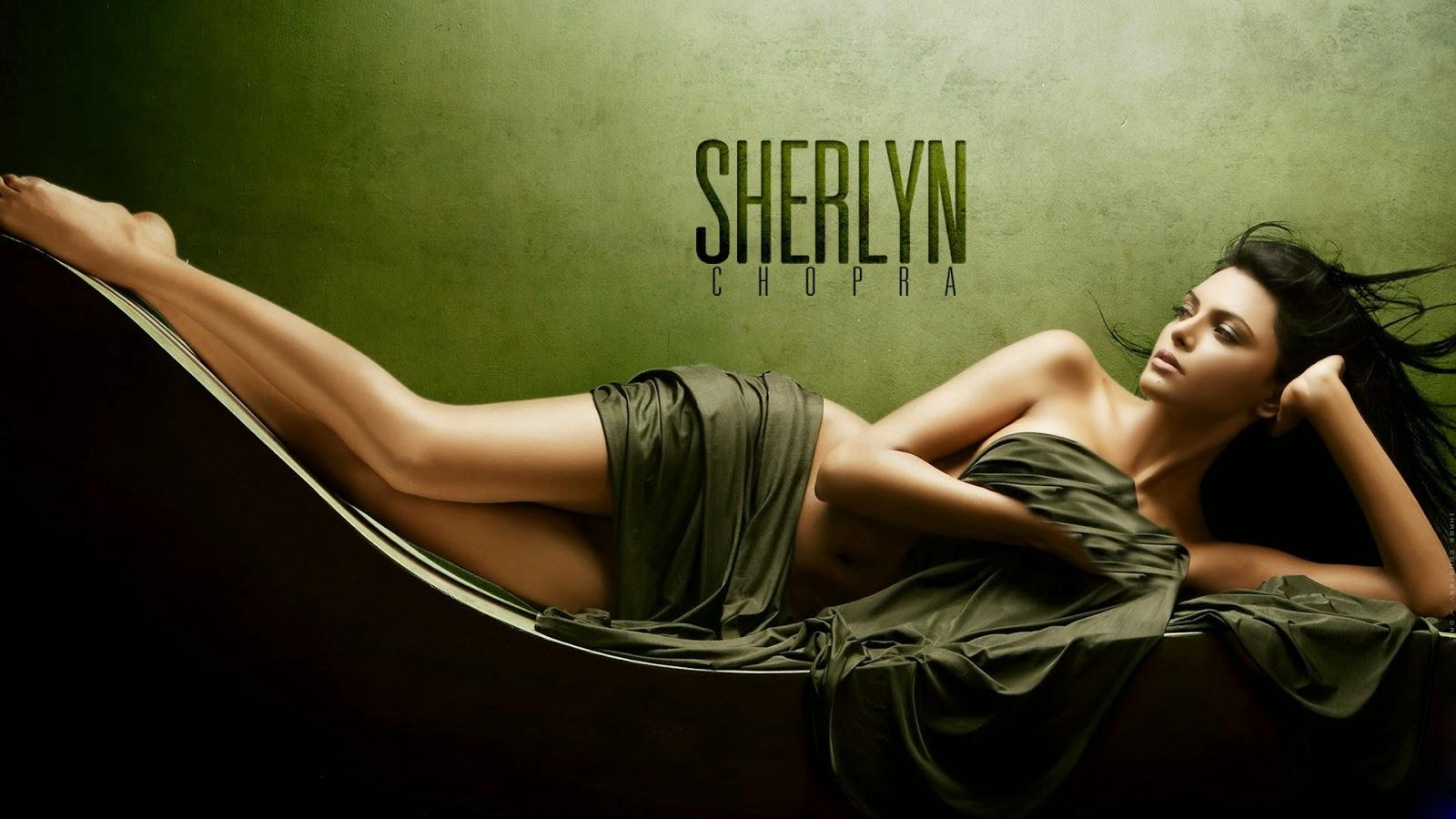 sherlyn chopra Hot Free Wallpaper Download