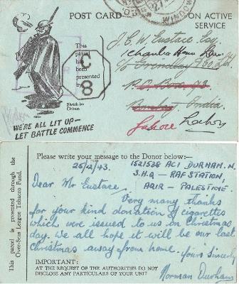 postcard WW2