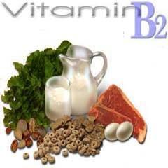 Sumber Vitamin B2
