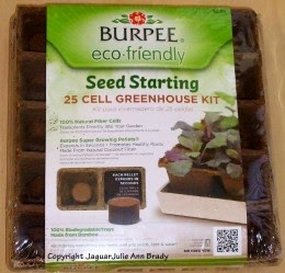 burpee seed starting kit 25 cells