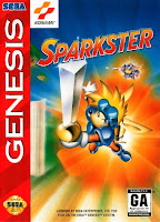 Sparkster Rare Genesis