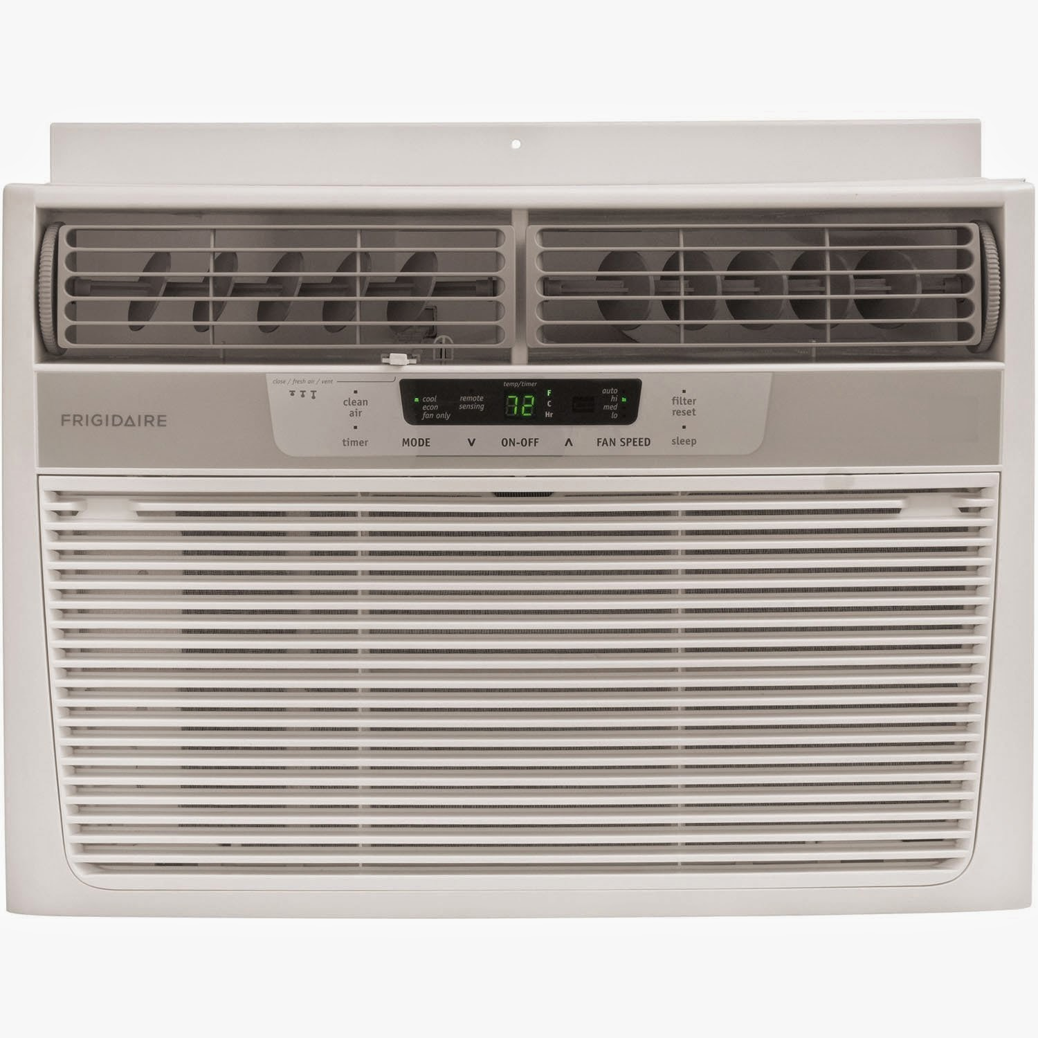 Frigidaire FRA106CV1 10,000 BTU 115-Volt Window-Mounted Compact Air Conditioner with Temperature Sensing Remote Control