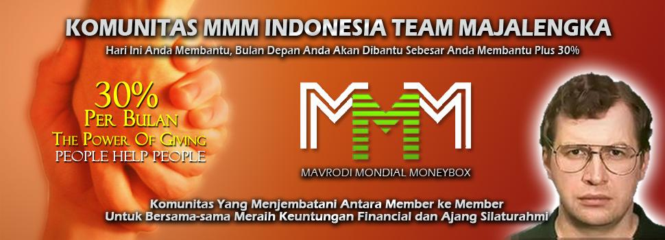 Panduan Sukses Sergey Mavrodi MMM Indonesia Team