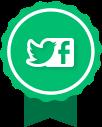 Facebook y Twitter 2016