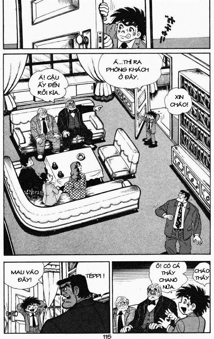 Siêu quậy Teppi chap 55 - Trang 35