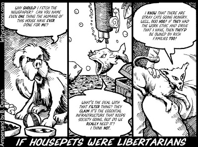 Cartoon | If Libertarians were Housepets