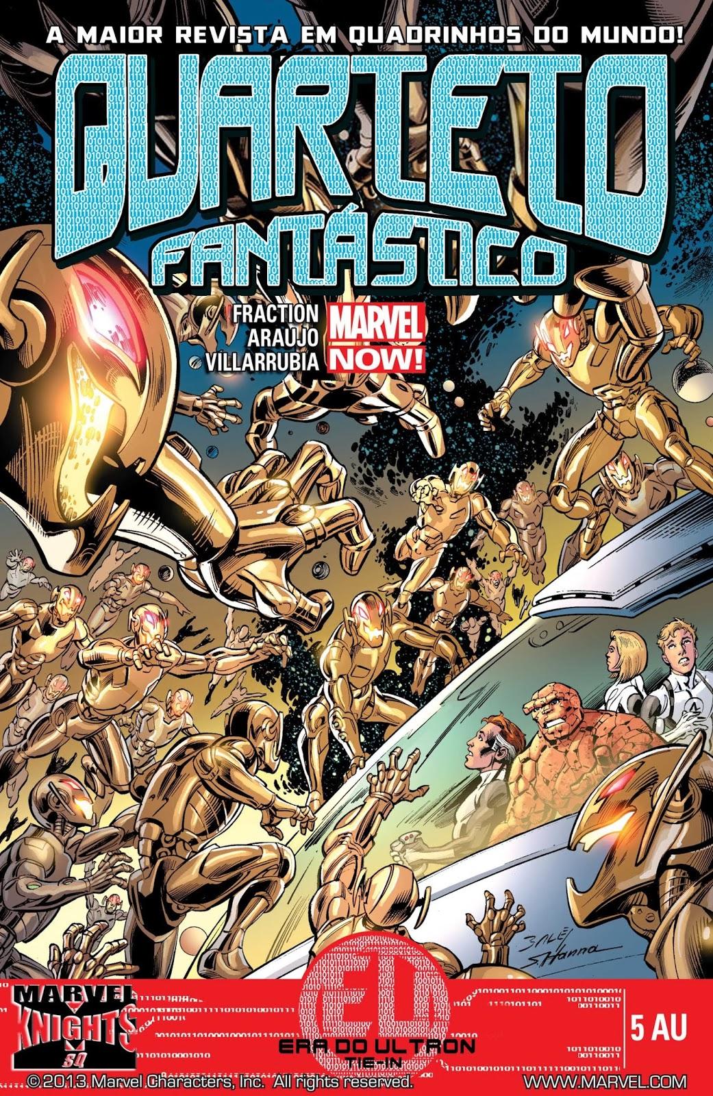Nova Marvel! Quarteto Fantástico #05 EU