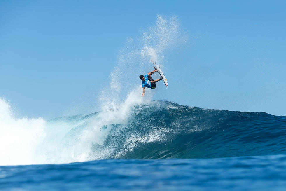 21 Gabriel Medina Billabong Pro Tahiti Foto WSL Stephen Robertson