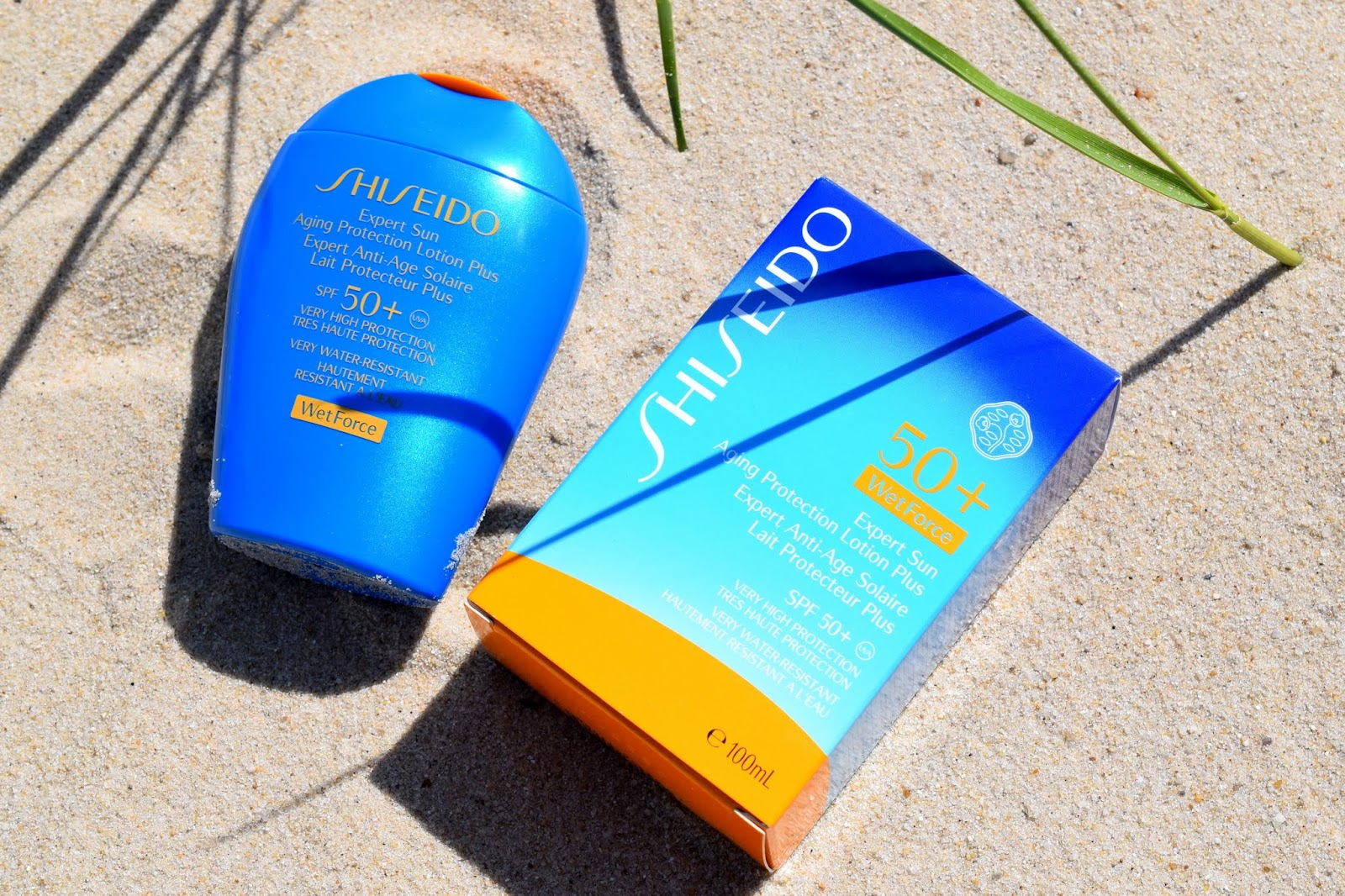Shiseido Expert Sun Aging Protection Lotion SPF50+ WetForce