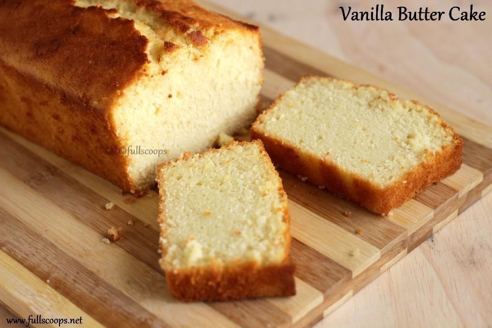 Moist Vanilla Buttermilk Cake