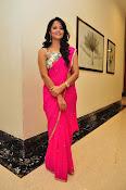 Anasuya dazzling saree photos-thumbnail-18