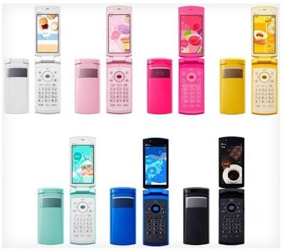 Fujitsu F001 camera phone