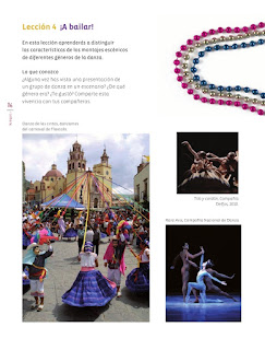 Apoyo Primaria Educación Artística 5to grado Bloque I lección 4 ¡A bailar!