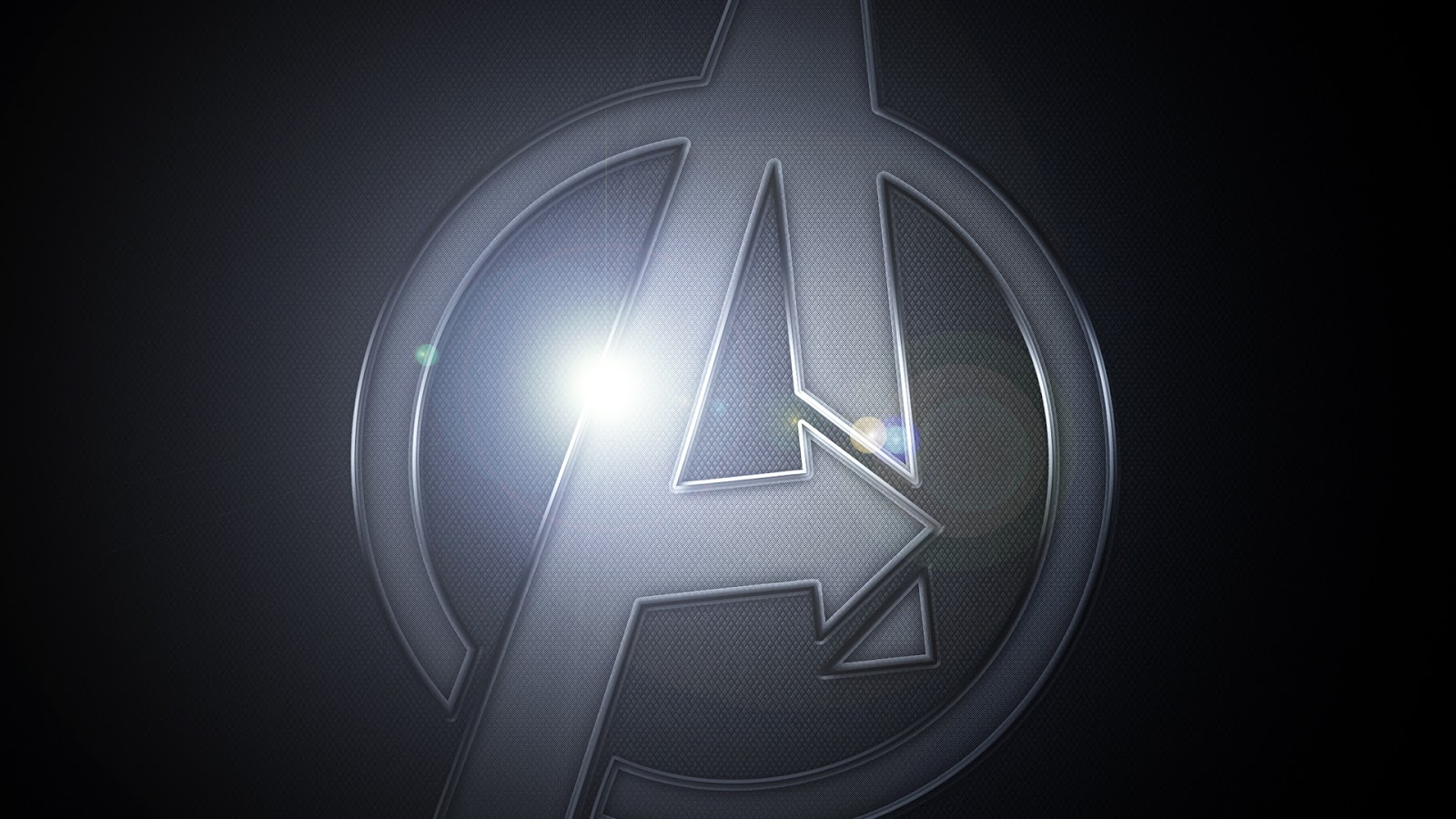 HD White logo Avengers Movie Wallpaper