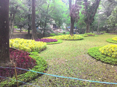 Taman Lansia Sebelah Gedung Sate Bandung
